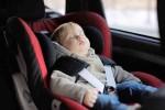Cinco errores al usar la silla del bebé en el coche