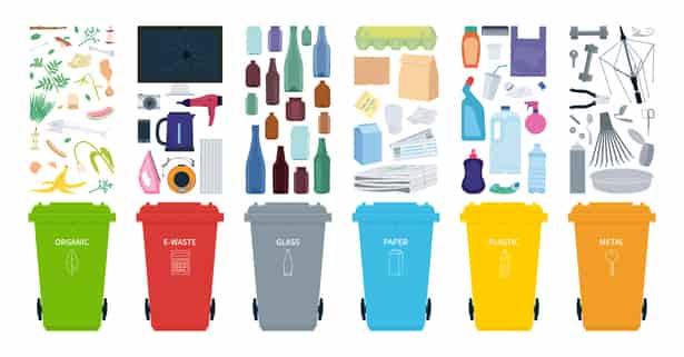 Siete cosas que probablemente estás reciclando mal