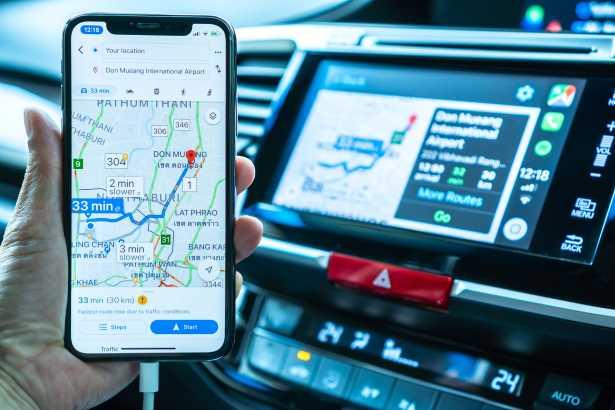 Google Maps podría avisarte si un taxista toma una ruta más larga