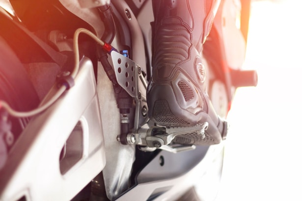 Tipos de botas de moto.
