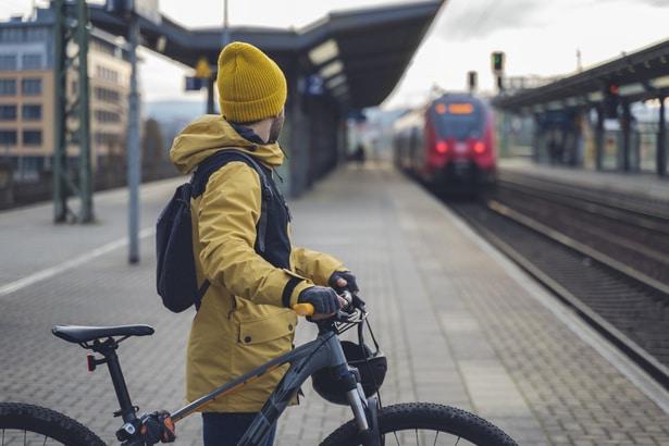 ropa llevar en bicicleta en invierno.